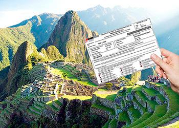 Boletos a Machu Picchu